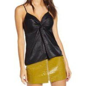 BNWT ENDLESS ROSE Camisole Top in Black